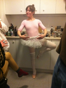 Boozy Ballerina at a Bud's B Themed B-Day