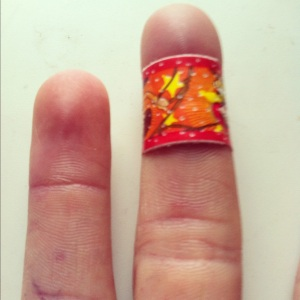 First Blisters Deserve Toy Story Band-aids